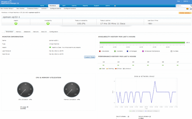 ManageEngine Application manager