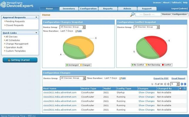Thumbnail image for ManageEngine DeviceExpert Review: Network Configuration, Change, and Compliance Management