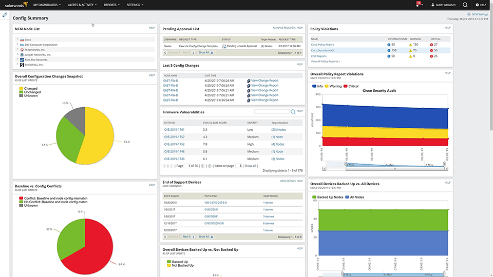 SolarWinds Network Configuration Manager