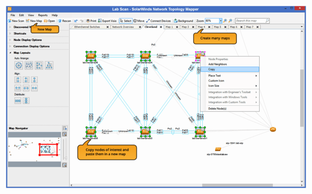 Thumbnail image for SolarWinds Network Topology Mapper Review